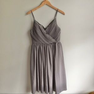 Banana Republic Strappy Crossover Dress